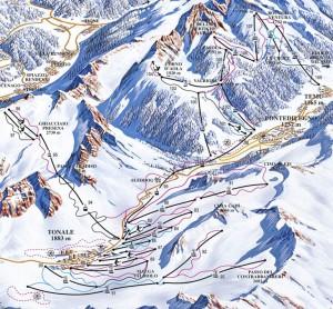 Adamello ski - MAPPA